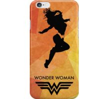 Wonderwoman Minimal Poster iPhone Case/Skin