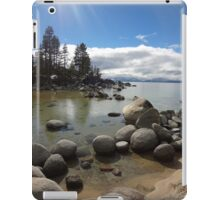 Sunlight Streaming Down at Lake Tahoe iPad Case/Skin