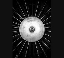 Closeup of a jet engine of an aircraft Unisex T-Shirt