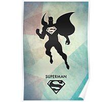 Superman Minimal Poster Poster
