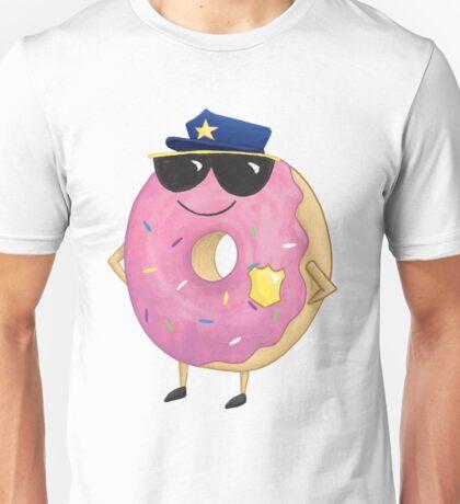 Donut Cop Police Unisex T-Shirt