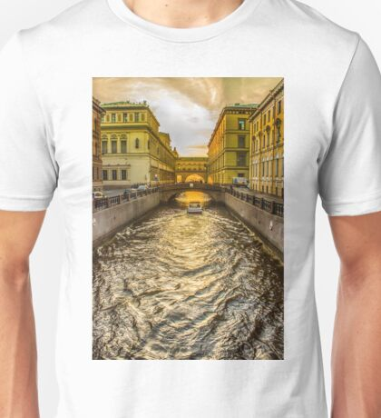 Swan Canal in St. Petersburg Unisex T-Shirt