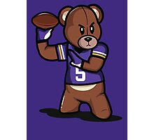 VICTRS - Teddy Football™ Photographic Print