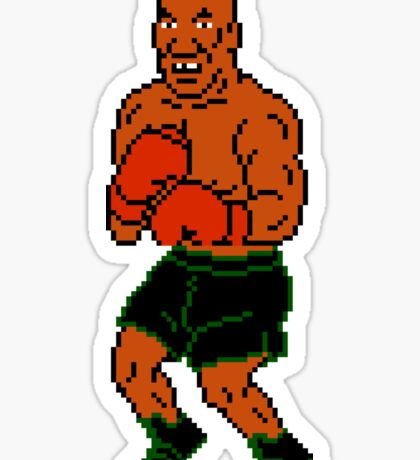 Mike Tyson sprite - Punch Out! Sticker