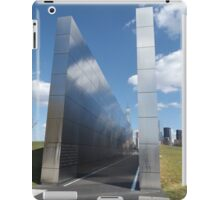 "9/11 Memorial, ""Empty Sky"", Liberty State Park, Jersey City  iPad Case/Skin"