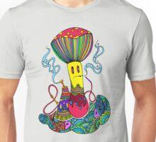 Hooka & Mushroom Unisex T-Shirt