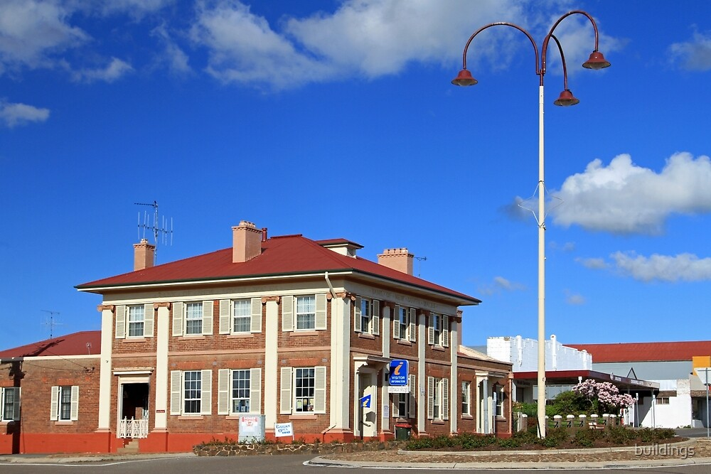 Visitor Information Centre, Crookwell by buildings