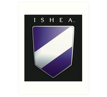 Ishean Coat of Arms Art Print