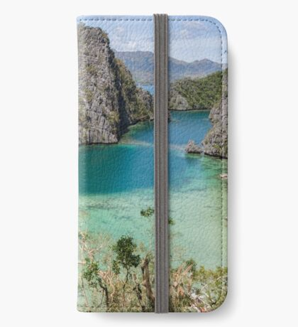 Postcard from Coron Island iPhone Wallet/Case/Skin