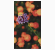 Purple Clump of Flowers Kids Clothes