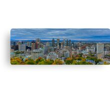 Downtown Montreal panorama  Canvas Print