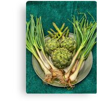 The Joy of Eating Green's.  Canvas Print