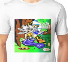 Kid Soldier-Yula bee relaxing & Reading Geography Studies Unisex T-Shirt