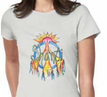 Dreaming of Peace Womens Fitted T-Shirt