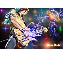 Dave Rude of Tesla Photographic Print