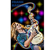 Frank Hannon of Tesla Photographic Print