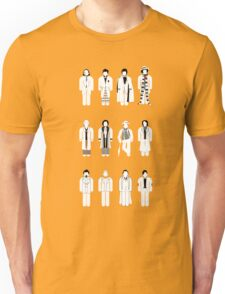 Timelord recognition guide (white) Unisex T-Shirt
