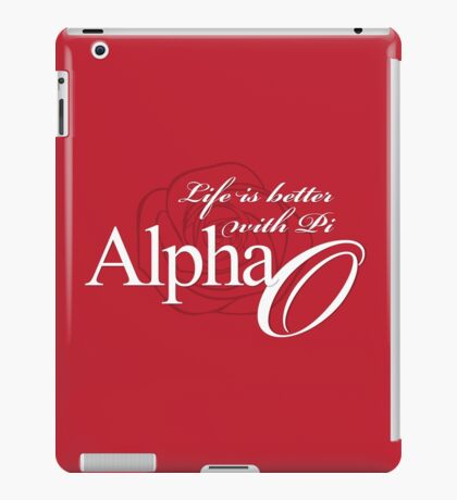 Life is better with Pi. iPad Case/Skin