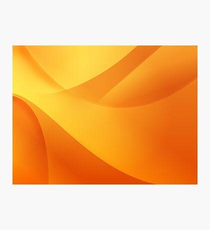 Orange Wallpaper Photographic Print
