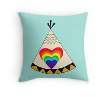 A Home Where Your Heart Shines Throw Pillow