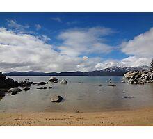 Sand Harbor Beach Photographic Print