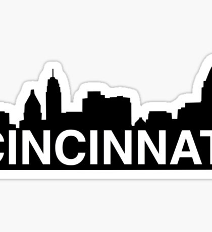 City of Cincinnati, Ohio skyline Sticker
