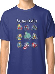 Superheroes Cats Classic T-Shirt