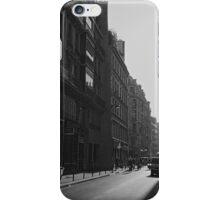 Morning rush, Paris 2014 iPhone Case/Skin