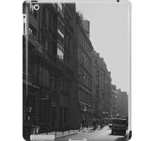 Morning rush, Paris 2014 iPad Case/Skin