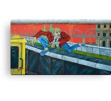 East Side Gallery in Berlin Canvas Print