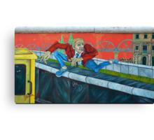 East Side Gallery in Berlin Canvas Print