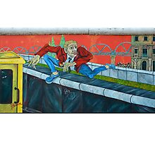 East Side Gallery in Berlin Photographic Print
