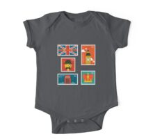 London England Stamp Collection One Piece - Short Sleeve