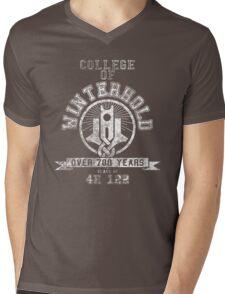 Skyrim - College Of Winterhold - College Jersey Mens V-Neck T-Shirt
