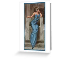 Silver Screen Queen Greeting Card