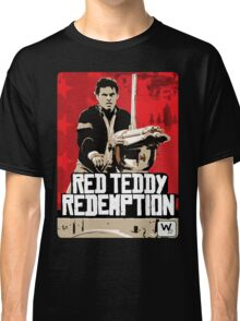 Red Teddy Redemption Mashup Classic T-Shirt