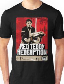 Red Teddy Redemption Mashup Unisex T-Shirt