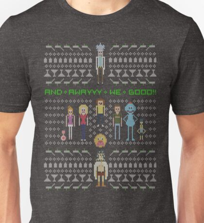 Rick and Morty Family Portrait (dark) Unisex T-Shirt