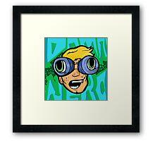 Nerdy Boy Framed Print