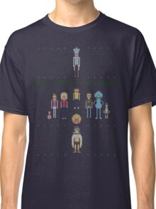 Rick and Morty Family Portrait (light) Classic T-Shirt