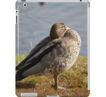 Zen duck iPad Case/Skin
