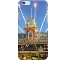 Magic Kingdom Morning Welcome Show  iPhone Case/Skin