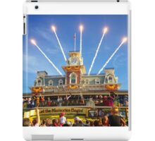 Magic Kingdom Morning Welcome Show  iPad Case/Skin