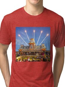 Magic Kingdom Morning Welcome Show  Tri-blend T-Shirt