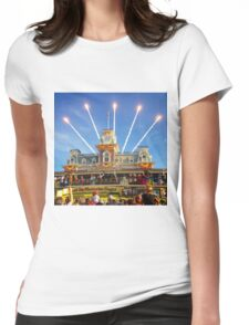 Magic Kingdom Morning Welcome Show  Womens Fitted T-Shirt