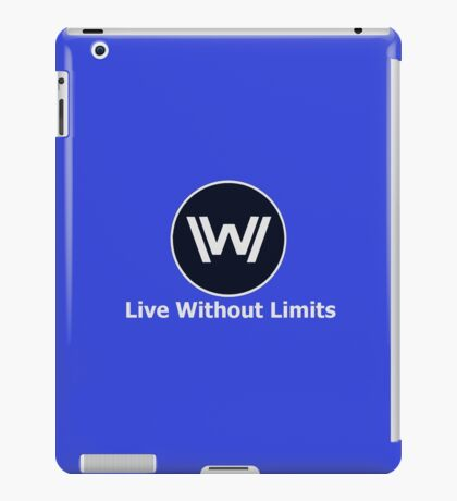 Live Without Limits (small) iPad Case/Skin
