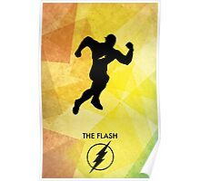 The Flash Minimal Poster Poster