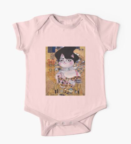 Portrait of Meow  One Piece - Short Sleeve