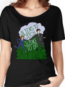 Aliens To Catch, Science To Do Women's Relaxed Fit T-Shirt