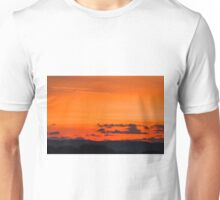 Dawn Sky Background Copy Text Unisex T-Shirt